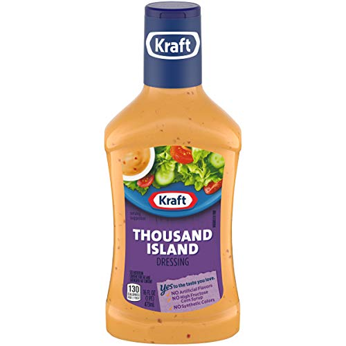 (Kraft Thousand Island Dressing, 16 fl oz Bottle)
