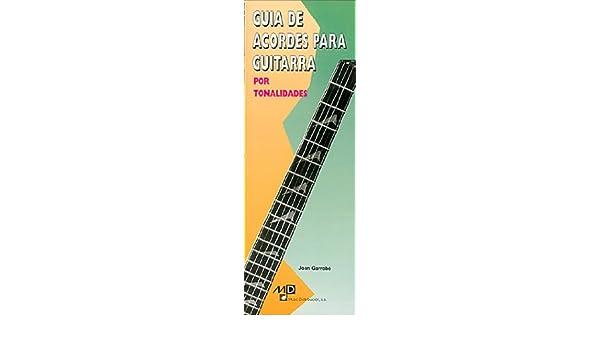 Guia de Acordes para Guitarra por Tonalidades Poket Guide: Amazon ...