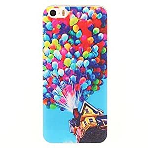 JJEThe Balloon Hanging House Pattern PC Hard Case for iPhone 5/5S