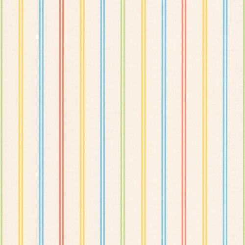 Brewster 443-90516 Candy Yellow Stripes Wallpaper, Yellow