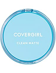 COVERGIRL Clean Matte Pressed Powder Classic Ivory 10 g (Packaging may vary)