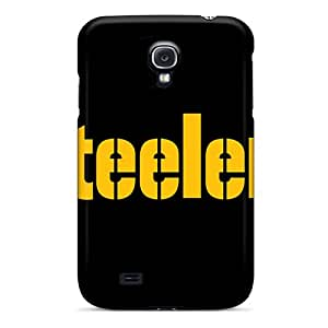 JonBradica Samsung Galaxy S4 Shock-Absorbing Hard Phone Cover Support Personal Customs Vivid Pittsburgh Steelers Pictures [omK8800YexS]