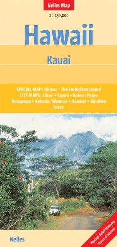 Hawaii: Kauai 1:150 000 Nelles (English, French and German Edition) PDF