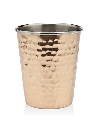 Godinger Hammered Mint Julep Cup, Copper by Godinger