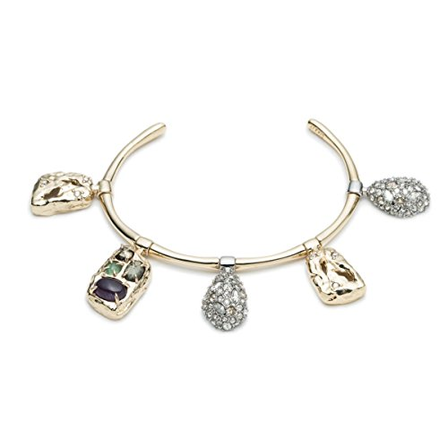 Alexis Bittar Swinging Charms Small Cuff Bracelet, 10K Gold ()
