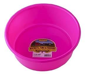 Little Giant P5HOTPINK Dura-Flex Plastic Utility Pan, 5-Quart, Hot Pink Outdoor, Home, Garden, Supply, Maintenance