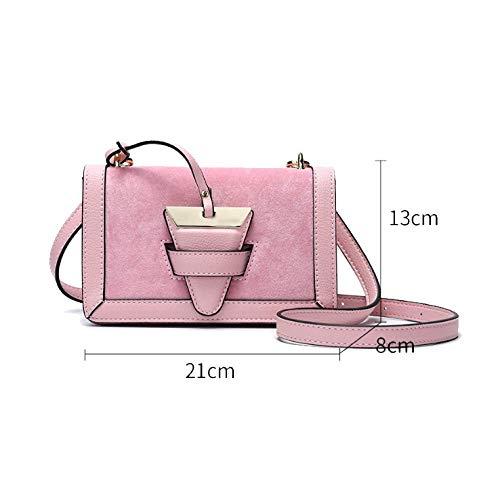 Version Pink Coréenne Yxpnu Carré Mat Sac Décontracté Mode Élégant Petit Femme xwtZp