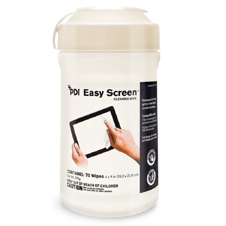 Easy Wipe - PDI Easy Screen Cleaning Wipes for Touchscreen - 1/Case of 840
