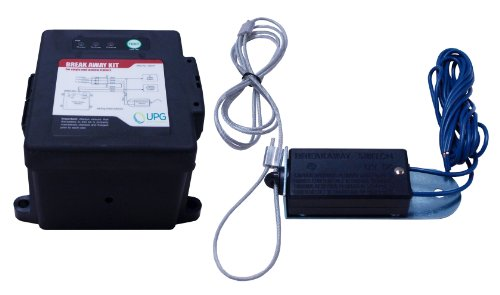 - Universal Power Group UPG 42914 Black Side-Load Breakaway Kit with LED, Charger and Switch