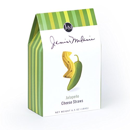 J&M Foods Jalapeño Cheese Straws, 6 Ounce (Best Cheese Biscuits)