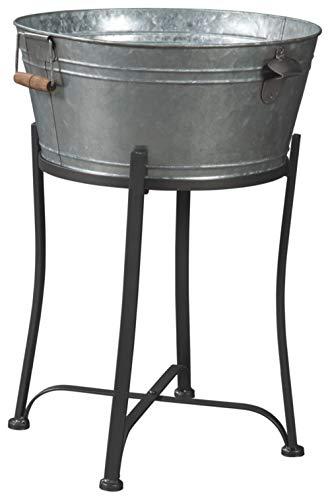 (Signature Design by Ashley A4000083 Valrock Beverage Tub, Metal)