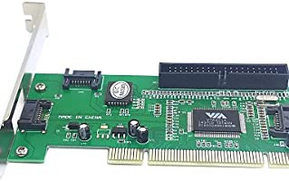 FUOIU 3 puertos SATA& pci ide chipset de la tarjeta ...