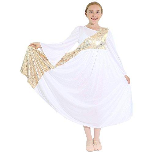 Sleeve Dance Dress - 8