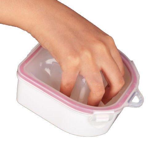 SOAK BOWL 1PCS SOAKING TRAY NAIL ART WASH SOAKERS Manicure Treatment remover wash - Soaker Tray