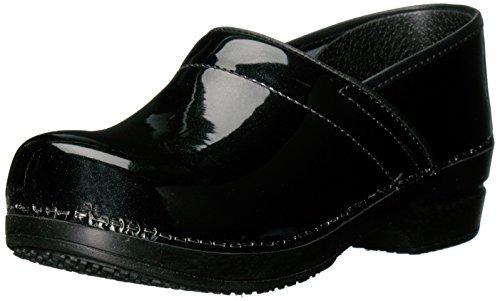 Black Womens Smart Shoe - Sanita Women's Smart Step Sabel Work Shoe, Black, 38 EU/7/7.5 M US