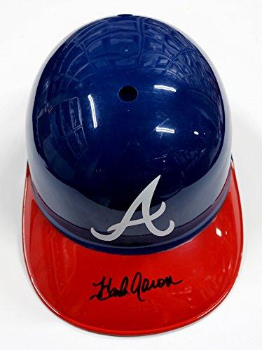 Hank Aaron Atlanta Braves Signed Autographed Rawlings Full Size Souvenir Replica Batting Helmet