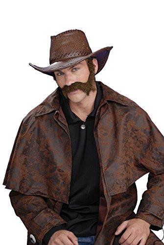 Forum Novelties 54864 Civil War General Beard, Brown