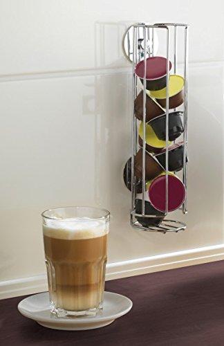 Wenko turboloc Soporte para cápsulas Dolce Gusto – Cápsulas de Café Sin Agujeros – Dispensador de