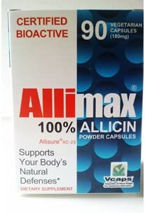 Allimax International Ltd Allimax 180 Mg 90 Vcap