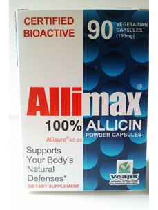 Allimax International Ltd Allimax 180 Mg 90 Vcaps