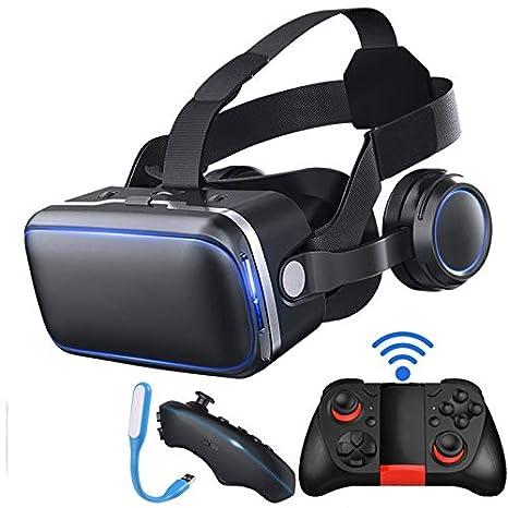 WXGZS VR Virtual, Realidad Gafas 3D Gafas Headset Casco para ...