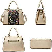 Mk Belted Collection Fashion Hobo Handbag For Women~2 Pcs Women/'S Tote Bag Satch