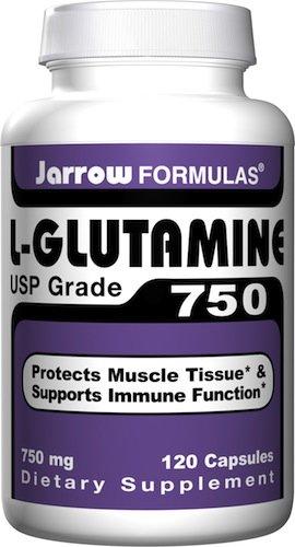 Jarrow Formulas L-Glutamine 750mg, 120 capsules