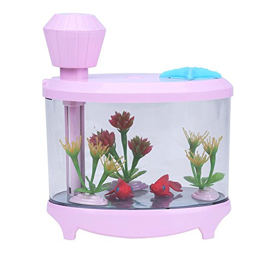 Aquarium LED Humidifier (pink) - 2