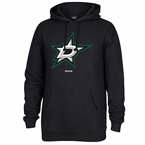 - Reebok NHL Dallas Stars Men's Jersey Crest Pullover Hoodie, Small, Black