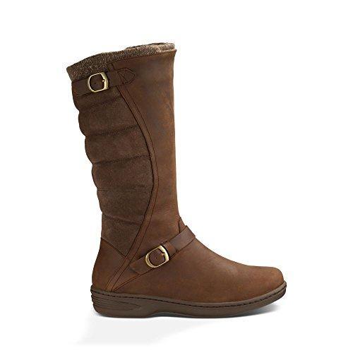 Teva Women's W Nopal WP Snow Boot, Brown, 6 M US