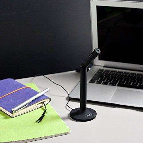 "Kinobo USB Microphone ""AKIRO"" 3rd Generation Condenser Microphone USB 2.0 for PC/Laptop/Skype Microphone/Computer Microphone for Skype [3rd Gen] by Kinobo (Image #1)"