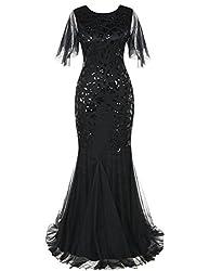 Sequin Mermaid Long Formal Gown