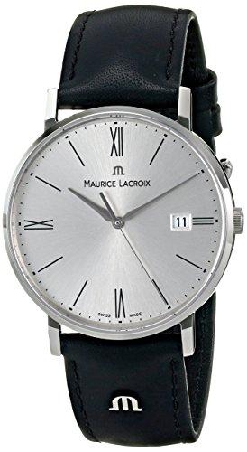 maurice-lacroix-mens-el1087-ss001-110-eliros-analog-display-analog-quartz-black-watch