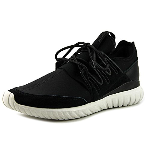 Adidas Original Mens Rörformig Radiellt Sätt Gymnastiksko Svart / Vit