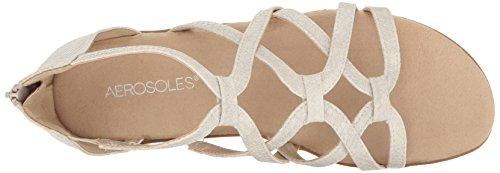 Aerosoles Women's Ocean Chlub Gladiator Sandal Bone Snake 9ymxRJ