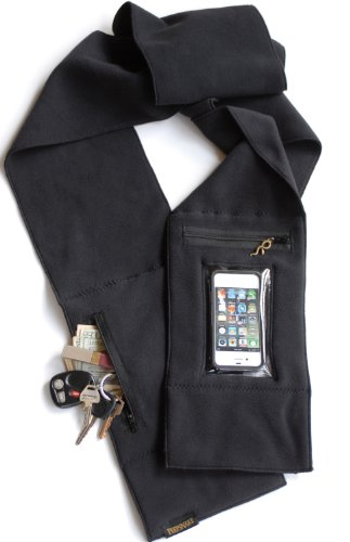Peepsnake Smartphone Scarf, Premium Polartec, Touchscreen & Camera Window, iPhone 5 & SE