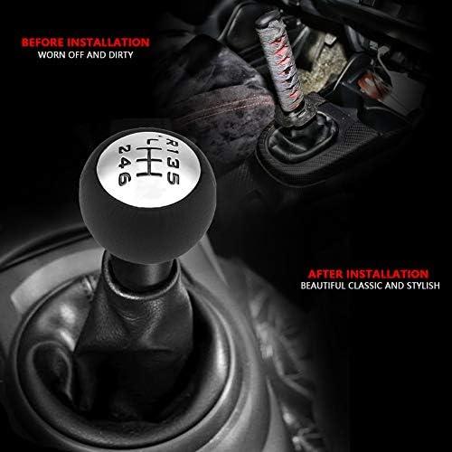Schaltknauf Auto 6 Gang Schaltgetriebe Schaltknauf Kopf Knopf Schalter Für 307 308 3008 407 5008 807 Für C3 C4 C8 Auto