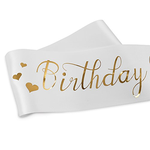 ADBetty Birthday Queen Sash