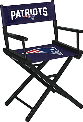 Imperial Officially Licensed NFL Merchandise: Directors Chair (Short, Table Height), New England Patriots