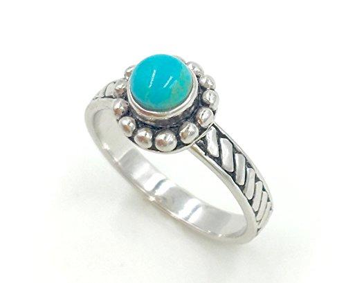 Genuine Stone Ring - 9