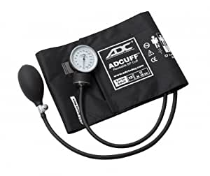 ADC 760X PROSPHYG Large Adult Black Sphygmomanometer by ADC