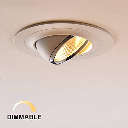OBSESS Recessed Dimmable Adjustable Aluminium 2700K