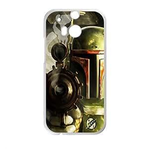 Droid War Design Plastic Case Cover For HTC M8