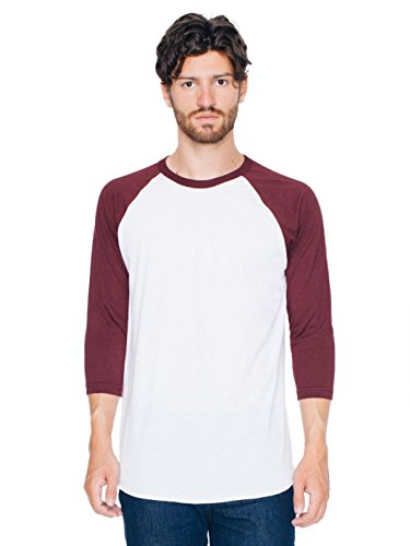 american-apparel-mens-poly-cotton-3-4-sleeve-raglan-shirt-white-truffle-large