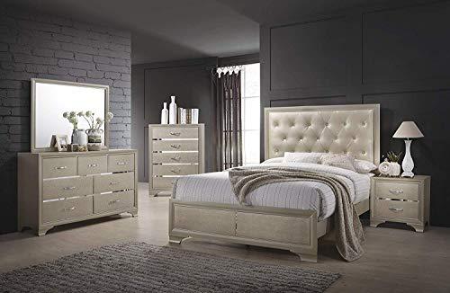 Coaster Home Furnishings Platform Bed, 63.25