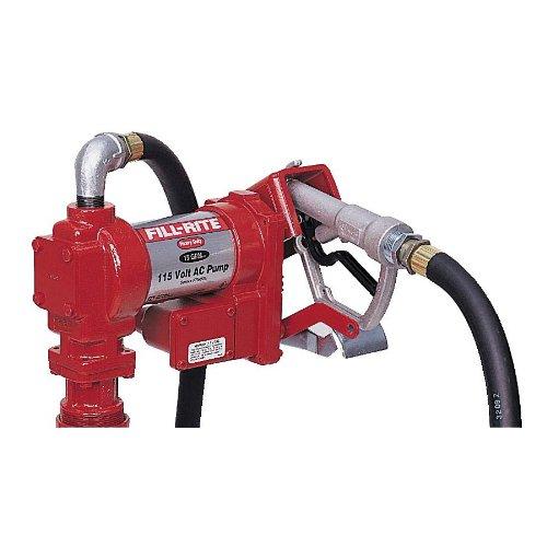 - Fill-Rite FR610G AC Pump with Hose, 115 V