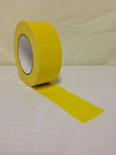 All Trade Direct 4 X Yellow Gaffer 50Mm X 50M Waterproof Adh