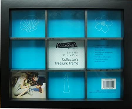 MCS Collectors Treasure Frame 8x10 with 9 Compartments by MCS ...