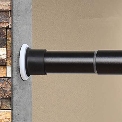 Room Divider Tension Rod Shower Bathroom Window Curtain No Drilling Adjustable