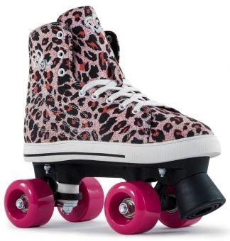 Rio Roller CANVAS Rollschuh 2016 pink leopard 33